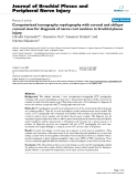 """Báo cáo y học: """"Computerized tomography myelography with coronal and oblique coronal view for diagnosis of nerve root avulsion in brachial plexus injury"""""""