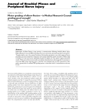 """Báo cáo y học: """" Motor grading of elbow flexion – is Medical Research Council grading good enough"""""""