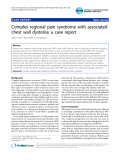 """Báo cáo y học: """"Complex regional pain syndrome with associated chest wall dystonia: a case report"""""""