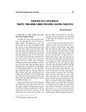 """Báo cáo nghiên cứu khoa học """" Thái độ Autralia trước tình hình chính trị Đông Dương năm 1954 """""""