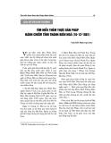 """Báo cáo nghiên cứu khoa học """" Tìm hiểu thêm thực dân Pháp đánh chiếm tỉnh thành Biên Hòa 16/12/1861 """""""