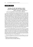 """Báo cáo nghiên cứu khoa học """" MÔ HÌNH TỔ CHỨC ĐIỀU PHỐI HOẠT ĐỘNG QUẢN LÝ TỔNG HỢP LƯU VỰC SÔNG HƯƠNG """""""