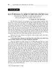 """Báo cáo nghiên cứu khoa học """" CỔ VẬT VIỆT NAM BÀN VỀ NIÊN ĐẠI CÁC MINH VĂN TRÊN ĐỒ GỐM VIỆT NAM"""""""