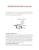 Hệ thống hybrid nối tiếp và song song