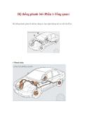 Hệ thống phanh ôtô (Phần 1-Tổng quan)