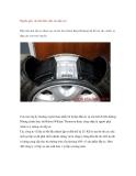 Nguồn gốc và cách làm việc của lốp xe?