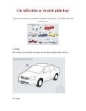 Các kiểu thân xe và cách phân loại