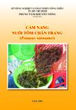Ebook Cẩm nang nuôi tôm chân trắng - TT Khuyến nông