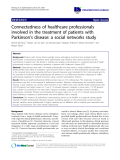 """báo cáo khoa học: """" Connectedness of healthcare professionals involved in the treatment of patients with Parkinson's disease: a social networks study"""""""