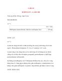 Lý thuyết y khoa: Tên thuốc LARIAM HOFFMANN - LA ROCHE