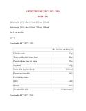 Lý thuyết y khoa: Tên thuốc LIPOFUNDIN MCT/LCT 10% - 20% B