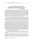 """Báo cáo nghiên cứu khoa học """"  ĐẠI CUNG MÔN - ĐIỆN CẦN CHÁNH NHÌN NHẬN LẠI MỘT SỐ VẤN ĐỀ VỀ LỊCH SỬ """""""