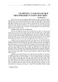 """Báo cáo nghiên cứu khoa học """"  TÔ PHỞ BẮC VÀ ĐỌI BÚN BÒ HUẾ TRÊN BÌNH DIỆN VĂN HÓA ĐỐI CHIẾU """""""