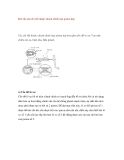 Kết cấu chi tiết thuộc xilanh chính loại piston kép