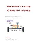 Phân tích kết cấu các loại hệ thống lái và mô phỏng