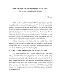 """Báo cáo nghiên cứu khoa học """" GÓP THÊM TÀI LIỆU VỀ VIỆC ĐỊNH ĐÔ THĂNG LONG VÀ VỀ GỐC TÍCH LÝ THƯỜNG KIỆT """""""