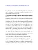 """Báo cáo nghiên cứu khoa học """" So sánh nguồn sử liệu trong nghiên cứu lịch sử Đảng cộng sản Việt Nam """""""