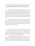 """Báo cáo nghiên cứu khoa học """" Bàn về vị trí của cuộc chiến đấu của quân và dân thủ đô (12/1946 – 2/1947) trong sự nghiệp đấu tranh giải phóng dân tộc (PGS.TS Nguyễn Đình Lê) """""""