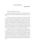 """Báo cáo nghiên cứu khoa học """" CÁC CỬA Ô Ở HÀ NỘI Nguyễn Vĩnh Phúc """""""