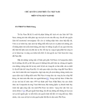 """Báo cáo nghiên cứu khoa học """" CHỦ QUYỀN LÃNH THỔ CỦA VIỆT NAM TRÊN VÙNG ĐẤT NAM BỘ """""""
