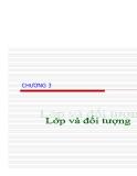 Tài liệu tham khảo về lập trình hướng đối tượng với .NET & C#.Chương 3 Lớp và đối tượng
