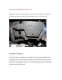 Chức năng của hệ thống cảm biến trên ôtô