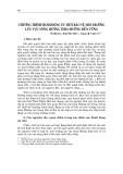 """Báo cáo nghiên cứu khoa học """" CHƯƠNG TRÌNH HÀNH ĐỘNG ƯU TIÊN BẢO VỆ MÔI TRƯỜNG LƯU VỰC SÔNG HƯƠNG THEO HƯỚNG BỀN VỮNG """""""