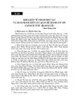"""Báo cáo nghiên cứu khoa học """" KHÁI QUÁT VỀ THANH THỰC LỤC VÀ SÁCH THANH THỰC LỤC: QUAN HỆ THANH-TÂY SƠN (Cuối thế kỷ XVIII - đầu thế kỷ XIX) """""""