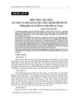 """Báo cáo nghiên cứu khoa học """"  KIẾN TRÚC CHÙA HUẾ: GIÁ TRỊ CỦA MỘT DI SẢN GIỮA LÒNG THÀNH PHỐ DI SẢN (Những khảo sát về kiến trúc chùa Huế xưa và nay) """""""