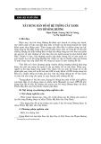 """Báo cáo nghiên cứu khoa học """"  XÂY DỰNG BẢN ĐỒ SỐ HỆ THỐNG CÂY XANH VEN BỜ SÔNG HƯƠNG """""""