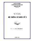 Hệ thống cơ đIện tử 2 - Chương 1