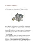 Các chế độ làm việc của bộ chế hoà khí