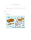 Các cơ cấu chính của động cơ xăng