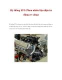 Hệ thống EFI (Phun nhiên liệu điện tử động cơ xăng)