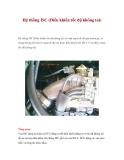 Hệ thống ISC (Điều khiển tốc độ không tải)
