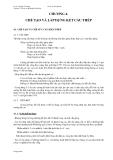 Chương 4 : Chế tạo và lắp dựng kết cấu thép