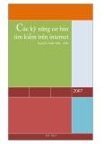 Các kỹ năng tìm kiếm cơ bản trên internet