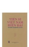 Tiến sĩ Việt Nam hiện đại tập 2 part 1