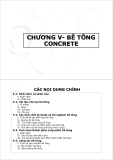Chương 5-Bê tông concrete