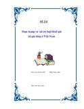 Đề tài : Thực trạng và vai trò luật thuế GTGT ở Việt Nam