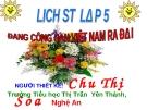 Giáo án điện tử tiểu học môn lịch sử: Đảng Cộng Sản Việt Nam ra đời