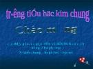 Giáo án điện tử tiểu học môn lịch sử: Cách mạng xã Kim chung