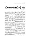 """Báo cáo nghiên cứu khoa học """" Tôn Trung Sơn ở Việt Nam"""""""