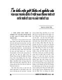 """Báo cáo nghiên cứu khoa học """" Văn học Trung Quốc ở Việt NAm trong thời kỳ cuối thế kỷ XIX và đầu thế kỷ XX """""""