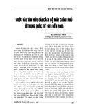 """Báo cáo nghiên cứu khoa học """" Bước đầu tìm hiểu cải cách bộ máy chính phủ ở Trung Quốc từ 1978 đến 2003 """""""