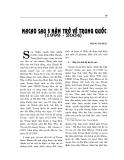 """Báo cáo nghiên cứu khoa học """" MACAO SAU 5 NĂM TRỞ VỀ TRUNG QUỐC 1999 - 2004 """""""