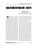 """Báo cáo nghiên cứu khoa học """" Quan hệ nồng ấm Trung Quốc – châu Phi """""""