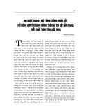 """Báo cáo nghiên cứu khoa học """" Hai nước Trung - việt tăng cường đoàn kết, mở rộng hợp tác tăng cường thêm sự tin cậy lẫn nhau, thắt chặt thêm tình hữu nghị  """""""