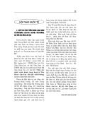 """Báo cáo nghiên cứu khoa học """" HỢP TÁC PHÁT TRIỂN HÀNH LANG KINH TẾ CÔN MINH - LÀO CAI - HÀ NỘI - HẢI PHÒNG VAI TRÒ CỦA TỈNH LÀO CAI  """""""