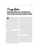 """Báo cáo nghiên cứu khoa học """" TRUNG QUỐC - NHẬN THỨC KHÁC NHAU VỀ THUỘC TÍNH GIAI CẤP CỦA CHỦ DOANH NGHIỆP TƯ NHÂN """""""
